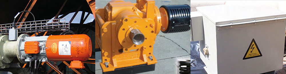 Cable and hose reel drive systems